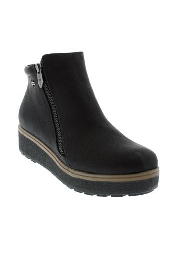 les et p et tites et bombes boots femme de couleur noir