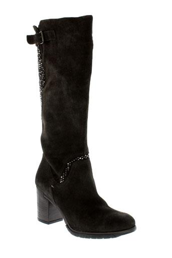 khrio bottes femme de couleur marron