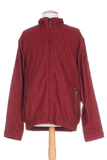 cabano vestes homme de couleur rouge