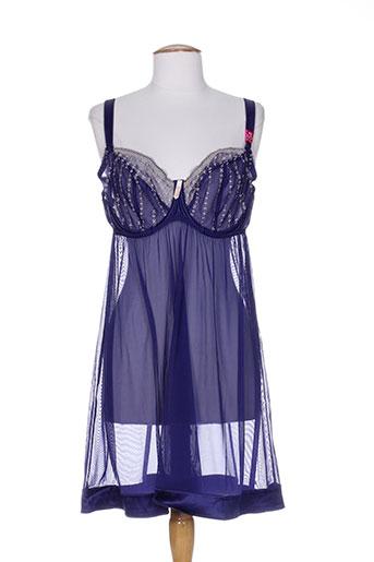 curvy kate lingerie femme de couleur bleu