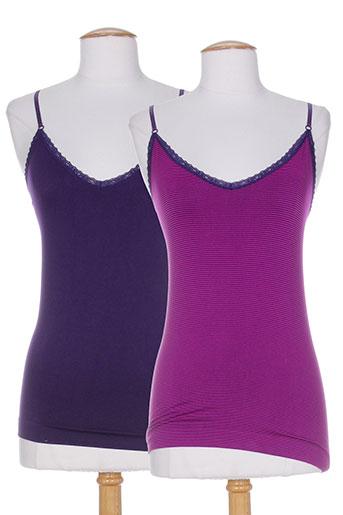 billet et doux tops et caracos femme de couleur violet