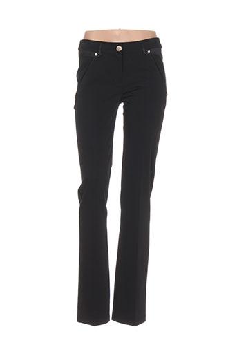 lasagrada pantalons et decontractes femme de couleur noir