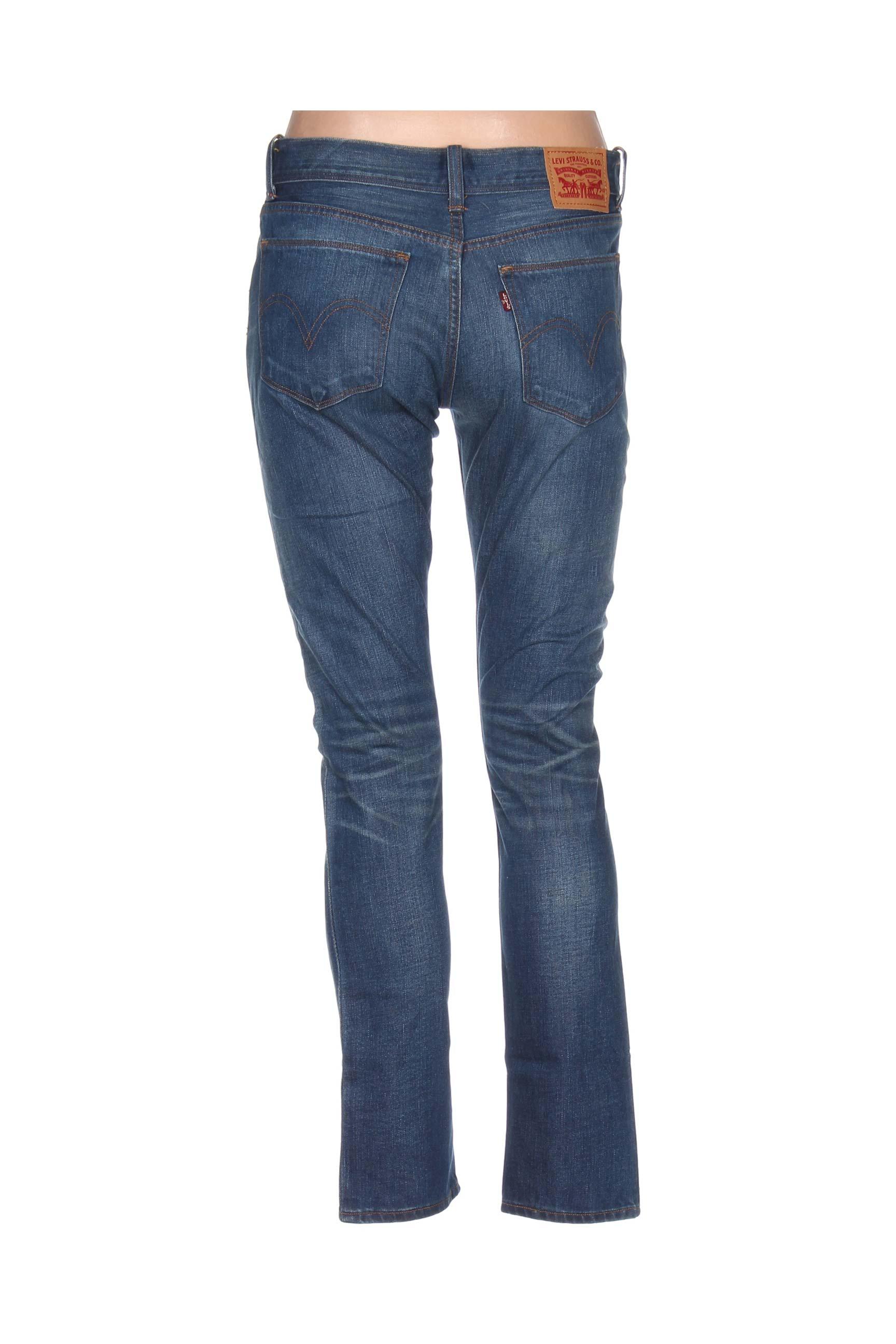Jeans bleu00 pas 1018540 en LEVIS Modz slim cher Jeans bleu soldes de couleur coupe pqMVUzS