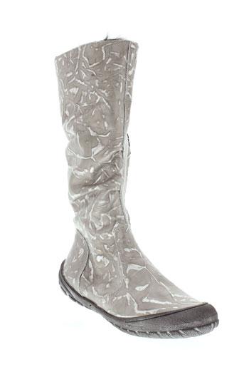 bellamy bottes femme de couleur gris