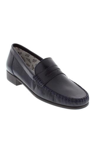 artika soft chaussures femme de couleur bleu