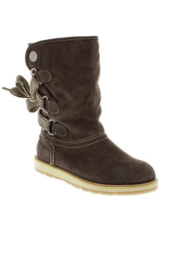 s et oliver boots femme de couleur marron