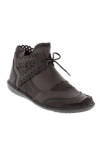 fugitive boots femme de couleur gris