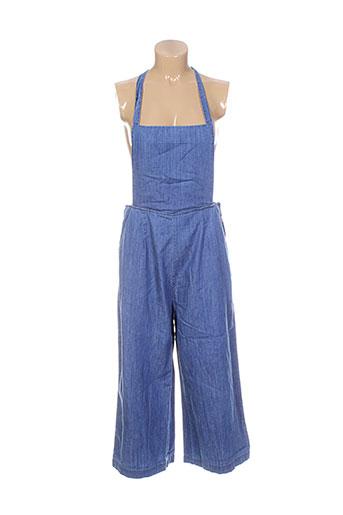 ichi combinaisons femme de couleur bleu