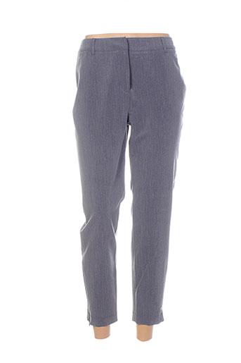 Pantalon chic gris ICHI pour femme