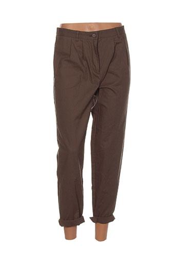 school et rag pantalons et decontractes femme de couleur vert