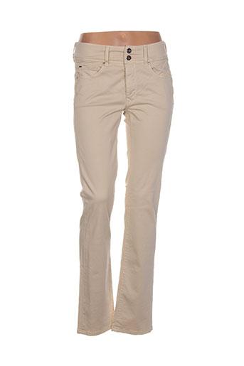 salsa pantalons et decontractes femme de couleur beige