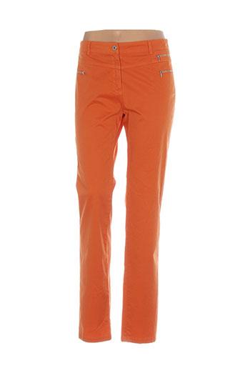 mado et les autres pantalons femme de couleur orange