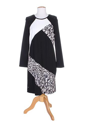 felino robes femme de couleur noir