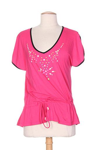 poupee chic chemises femme de couleur rose