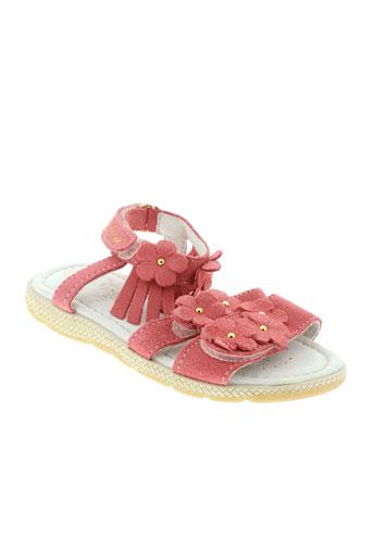 primigi sandales et nu et pieds fille de couleur rose