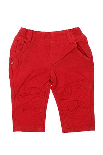 kanz pantalons garçon de couleur rouge