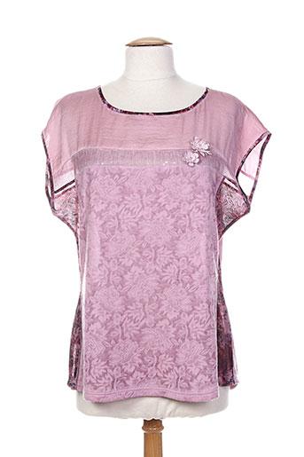 paz torras chemises femme de couleur rose