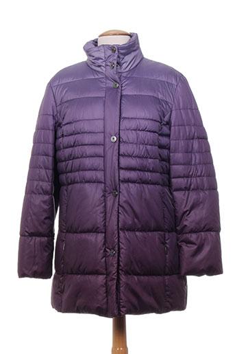 isabell manteaux femme de couleur violet