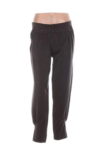 jcl pantalons femme de couleur gris