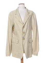 Veste casual beige MARITHE & FRANCOIS GIRBAUD pour homme seconde vue