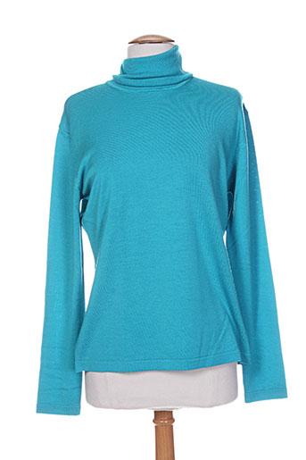 giulia pulls femme de couleur bleu