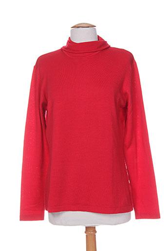 giulia pulls femme de couleur rouge