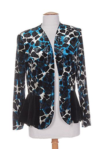 georgedé vestes femme de couleur bleu