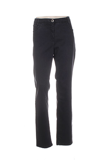 sbelt jeans pantalons femme de couleur gris