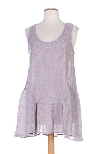 cannisse tuniques femme de couleur violet