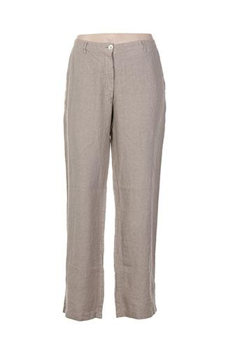 rivieres de lune pantalons femme de couleur chair