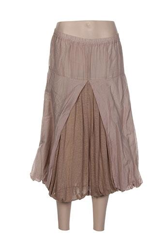 cannisse jupes femme de couleur beige