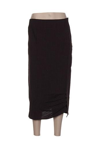 coco menthe jupes femme de couleur marron