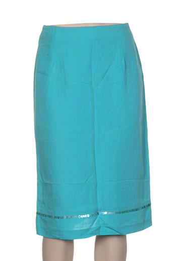 bandolera jupes femme de couleur bleu