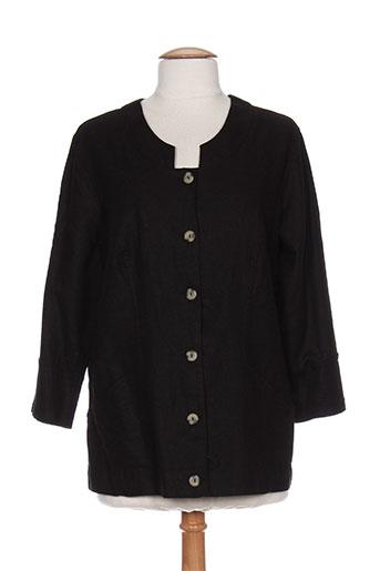 signature vestes femme de couleur noir