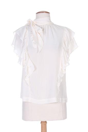 nue 1904 chemises femme de couleur beige