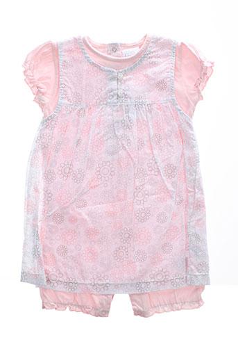 p et tites et canailles t et shirt et pantalon fille de couleur rose