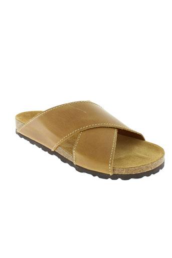 santafe chaussures homme de couleur beige
