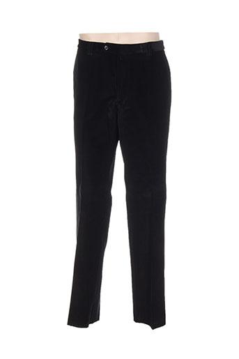 Pantalon casual noir NINO LORETTI pour homme
