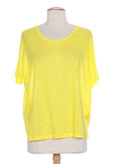 Produit-T-shirts / Tops-Femme-MAJESTIC FILATURES