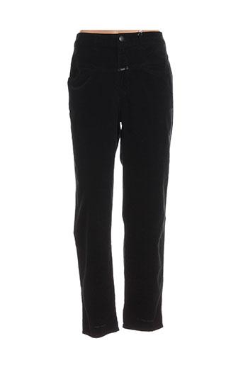 closed pantalons femme de couleur noir