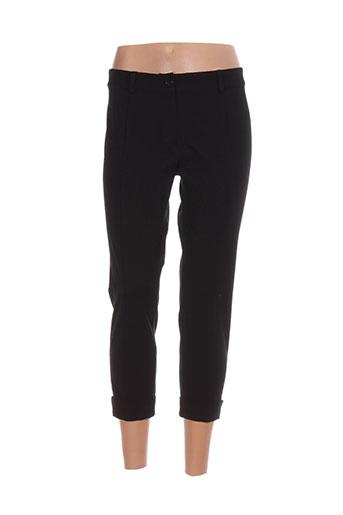 isabel de pedro pantalons femme de couleur noir