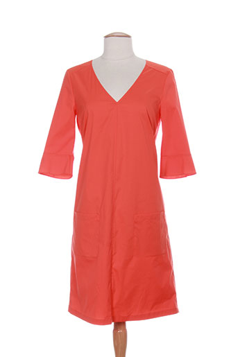 luisa cerano robes femme de couleur orange