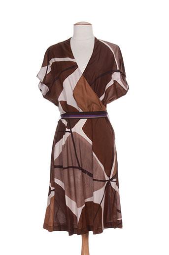 maliparmi robes femme de couleur marron