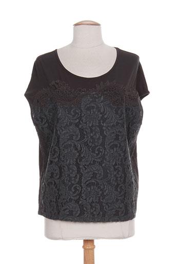 luisa cerano t-shirts femme de couleur gris