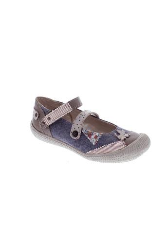 chipie chaussures fille de couleur bleu