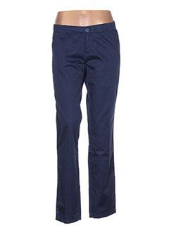 Pantalon casual bleu FAIRLY pour femme