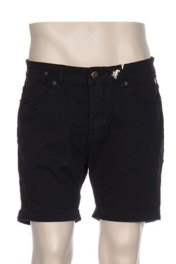 petrol industries shorts / bermudas homme de couleur noir