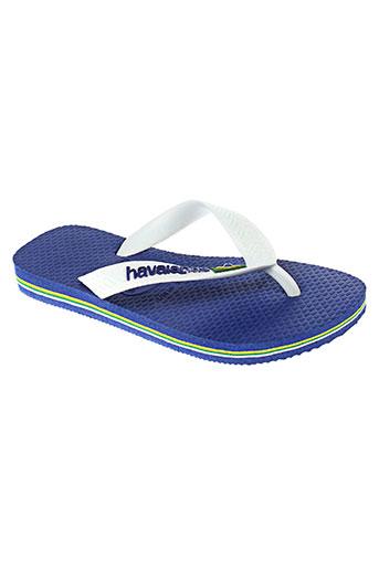 havaianas tongs enfant de couleur bleu