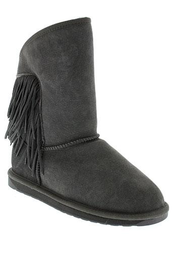 emu et australia boots femme de couleur gris