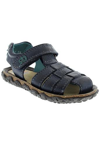 stones et and et bones sandales et nu et pieds garcon de couleur bleu